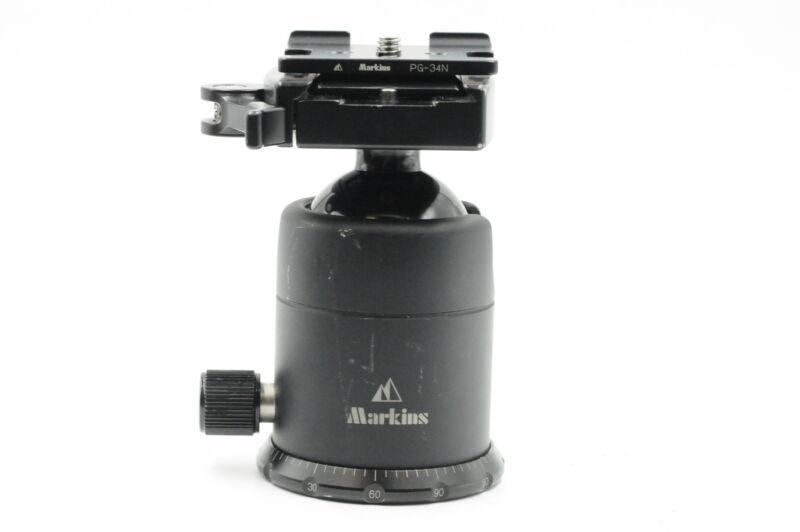 Markins Q10I Medium Duty Ball Head with Lever Release #477