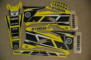 YAMAHA HURRICANE YELLOW  GRAPHICS  YZ250F YZ450F  YZF250 YZF450  06  07 08 09