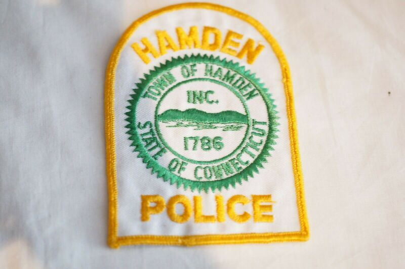 US Town of Hamden Connecticut Police Patch
