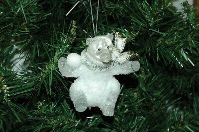 Polar Bear Ornament (Polar Bear Christmas Ornament)