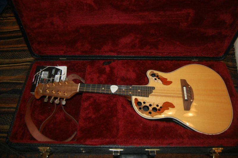 Ovation MM68 Acoustic/Electric mandolin - U.S. Sale Only.