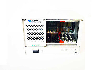 National Instruments Ni Pxi-1031 4-slot 3u Pxi Chassis Pn 190871k-01l