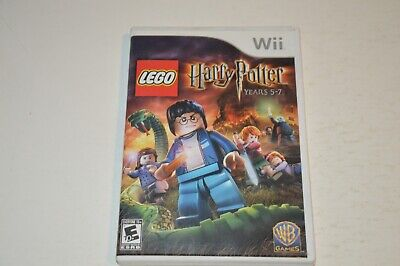 LEGO Harry Potter: Years 5-7 (Nintendo Wii, 2011) Complete  w/ Manual Tested EX+
