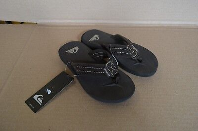 Quiksilver Brown Carver Suede Boys Youth Sandals New with Hang Tag AQBL100007