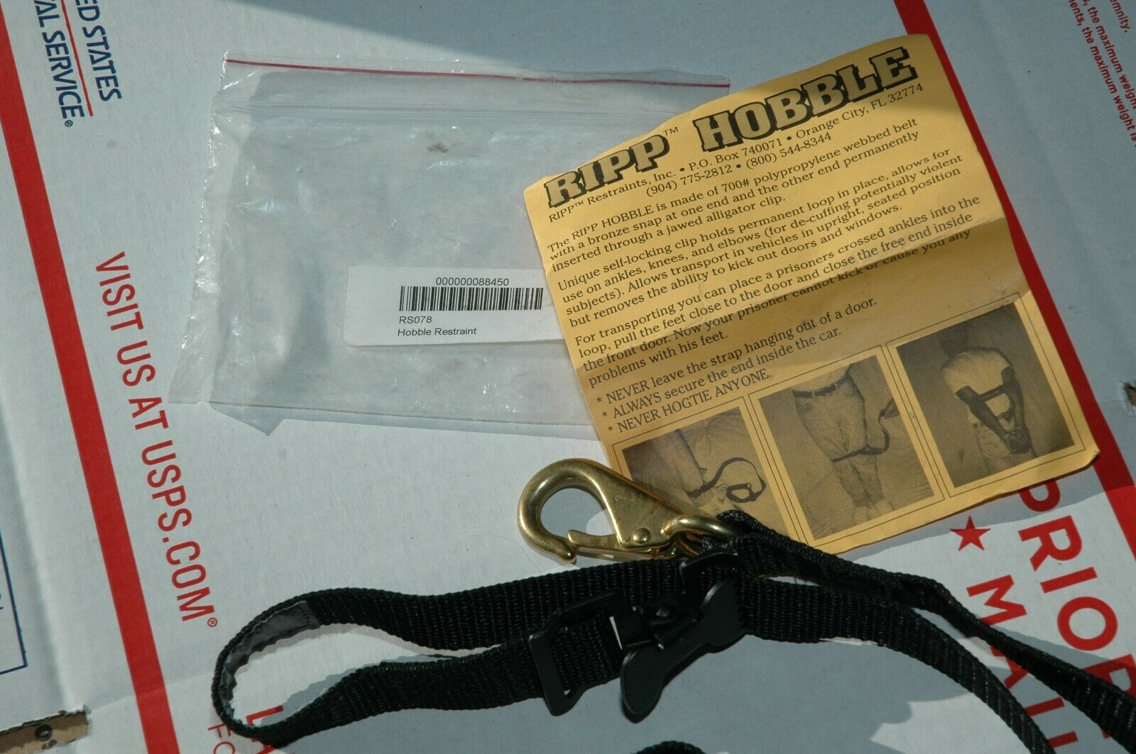 Rip Hobble Restraint RS078 42 NEW - $13.99