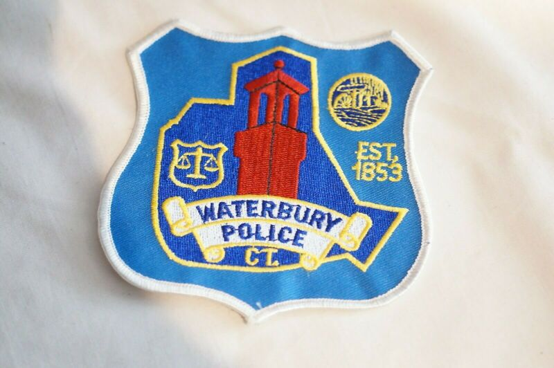 US Waterbury Connecticut Police Patch 1