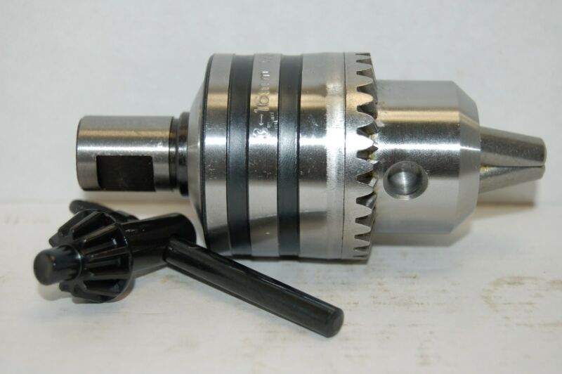 """THREADED Heavy Duty Magnetic Drill Chuck - 5/8"""" For Mag Drill Press"""