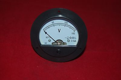 Ac 0-150v Analog Voltmeter Volage Panel Meter Dia. 90mm Dh62 Direct Connect