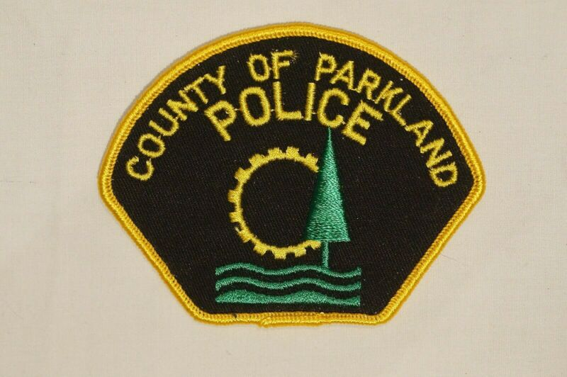 Canadian Alberta County Of Parkland Police Patch Single