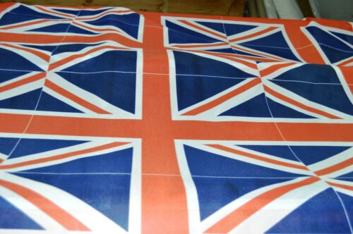 UNION JACK FLAGS -  PRINTED IN PANELS - 15 FLAGS PER 1.9 METRES