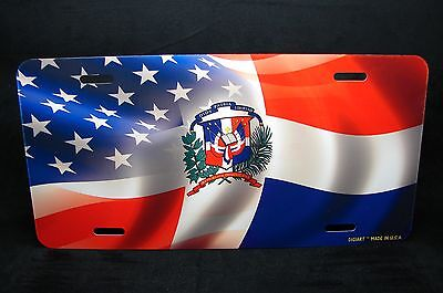 CAMBODIA  FLAG METAL ALUMINUM  LICENSE PLATE TAG FOR CARS  Cambodian flag