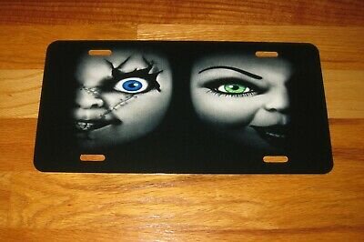 Characters Of Halloween (HALLOWEEN HORROR Movie Characters Custom License Plate-CHUCKY--BRIDE OF)