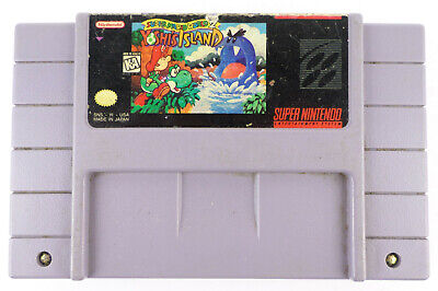 Yoshi's Island: Super Mario World 2 CART ONLY Super Nintendo AUTHENTIC TESTED