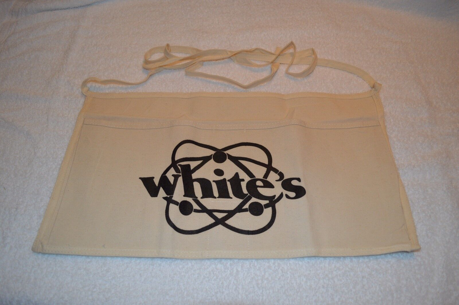 WHITE'S ~ ACCESSORIES ~ FINES RECOVERY APRON ~ WHITE'S LOGO ~ NEW ~ STYLE # 2