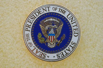 US USA Seal of the President Patriotic Hat Lapel Pin