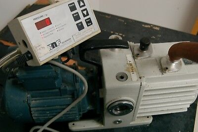 Leybold Trivac D4a Dual Stage Rotary Vane Mechanical High Vacuum Pump 1 Mbar