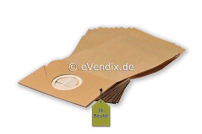 30 Staubsaugerbeutel, Staubbeutel, Filtertüten passend für Fakir 1207, 1217 / C
