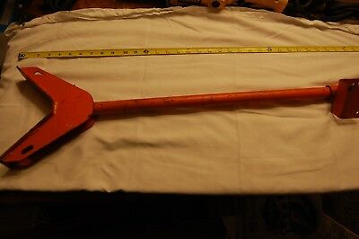 36 V-head Welding Pipe Stand For Scaffold Orange