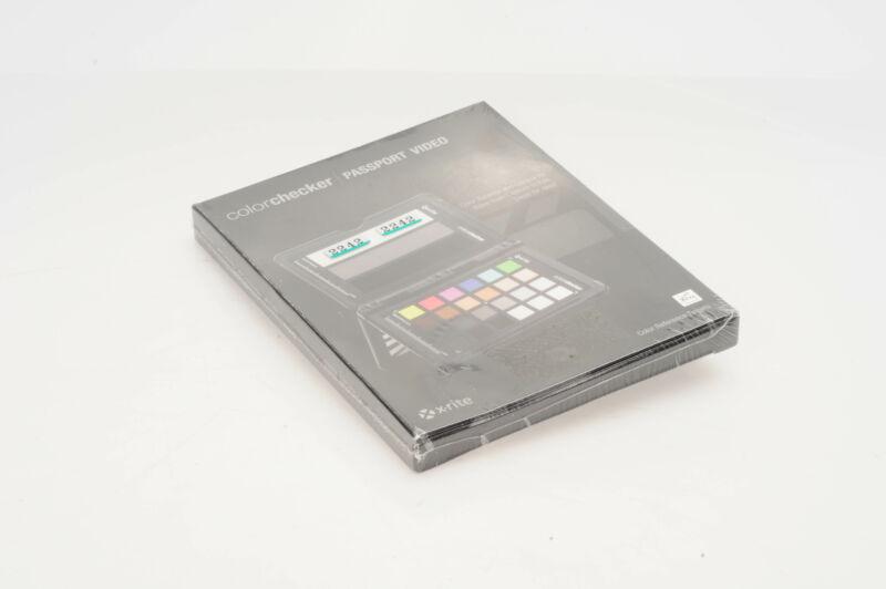 X-Rite ColorChecker Passport Video                                          #242