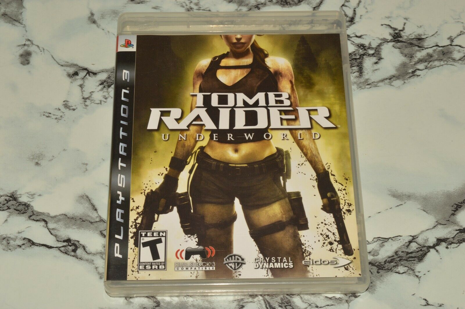 Tomb Raider - Underworld Sony PlayStation 3 PS3, 2008 -- Complete W/ Manual - $11.18