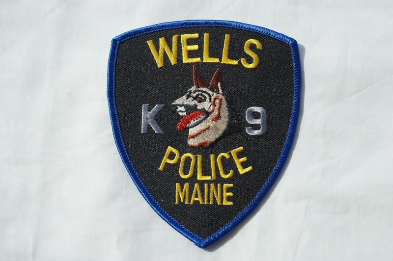 US Wells Maine K9 Police Patch Obsolete