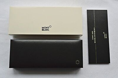 """New"" Montblanc Pencil Fountain Rollerball Ballpoint Pen Case Box Booklet Bundle"