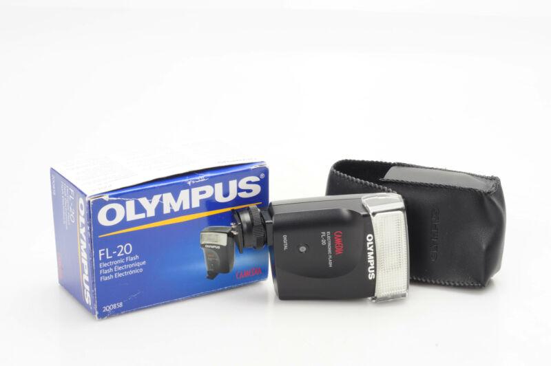 Olympus FL-20 Electronic Shoe Mount Flash FL20                              #514