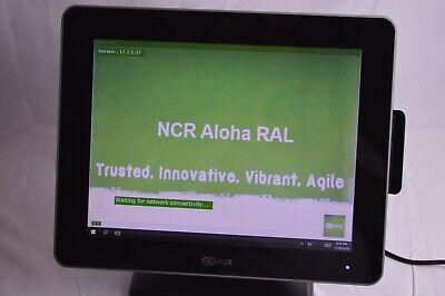 Ncr 7761-3100-0060 Radiant P1535 Terminal 60gb 4gb Ram Win 10 Pos Aloha Software