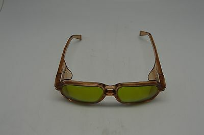 American Optical Safety Glasses 8754 Lens 54 Bridge 19 BRN G