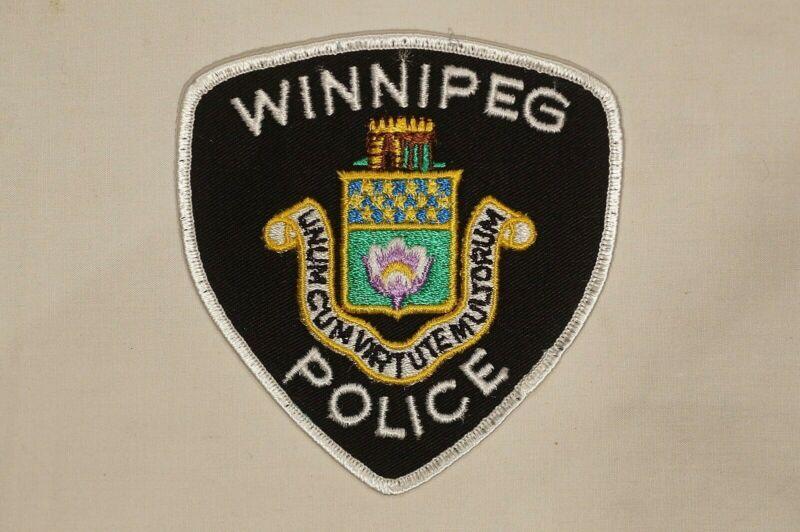 Canadian Manitoba Winnipeg Police White Patch 1