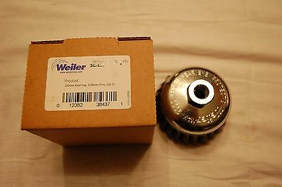 Weiler 38437 100mm 4 Knot Cup Wire Brush 58-11