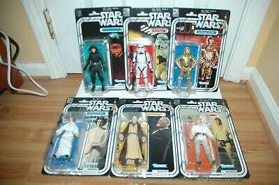 Star Wars Black Series ~ 40TH ANNIVERSARY ACTION FIGURE SET ~ Hasbro