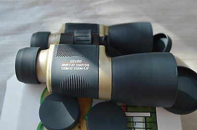 "Day/Night  Prism 20x60  Binoculars ""Perrini""  Ruby Lenses   1224"