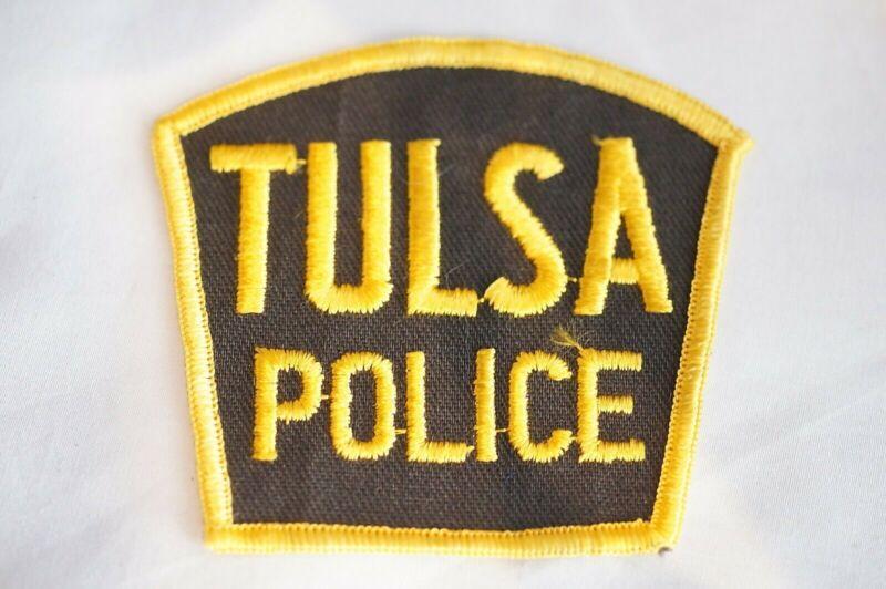 US Tulsa Oklahoma Police Patch
