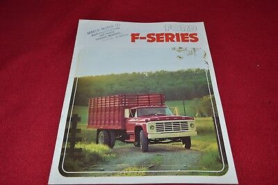 Ford F Series Truck For 1974 Dealer's Brochure YABE15