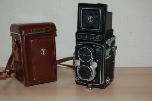Vintage Yashica-D TLR Film Camera  - Excellent +++