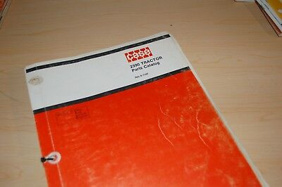 Case Ih 2390 Tractor Parts Manual Book Catalog List Farm Spare 8-1140 Guide J I