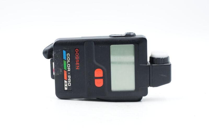 Gossen Color-Pro 3F Ambient/Flash Color Temperature Light Meter #469