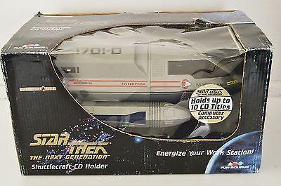 Star Trek Next Generation Shuttlecraft CD Holder Magellan Enterprise 1701-D 3684