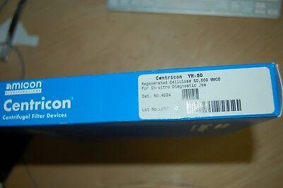 Millipore Amicon Centricon Ym-50 Concentrator Centrifuge Filter 4224 50000 Mwco