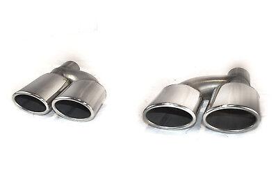 CARTUNER® Endrohre AMG Look f. Mercedes Benz E-Klasse W207 A207 C207 4-Rohr