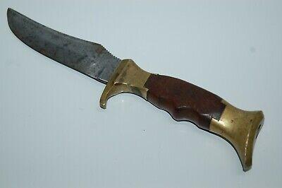 """Vintage OLSEN Knife Co. Solingen Germany 9 1/4"""" Fixed Blade Knife"""