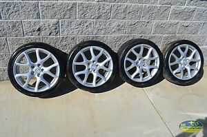 10-12 Mazdaspeed3 Wheel Set Wheels 18x7