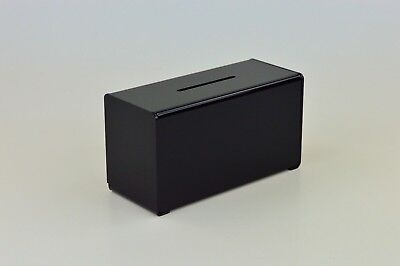 Suggestion Box / Collection Box in Acrylic PDS9458 Black