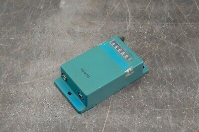 Festo Pza-a-b Pneumatic Air Adding Counter 29-116 Psi 2-8 Bar