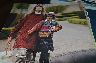 - Classic Elite Knitting Pattern 626 Tapestry Wool/Mohair