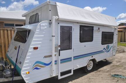 16' JAYCO CARAVAN, 2000 POP TOP MODEL – READY FOR FREE CAMPING Burpengary Caboolture Area Preview