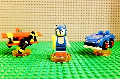 LEGO Dimensions Sonic the Hedgehog Level Pack 71244 Complete PS4 Xbox One Wii