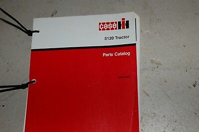 Case Ih 5120 Tractor Spare Parts Manual Book Catalog Farm List 1989 8-5671 Oem