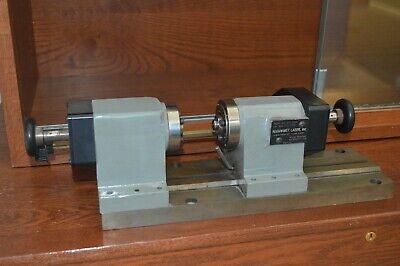 Accu-met Precision Laser Welding Positioner Lathe Glass Lathe